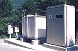 ゴルフ場揚水設備 電源設備